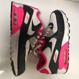 Pink & White Nike Airmax Youth 5.5 Womens 7